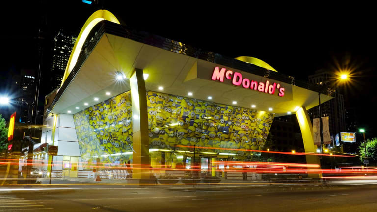 The release of the film has been backed by a number of corporate tie-ins, including with McDonald's.