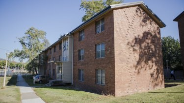 The Stuart Flats are set for demolition and redevelopment.