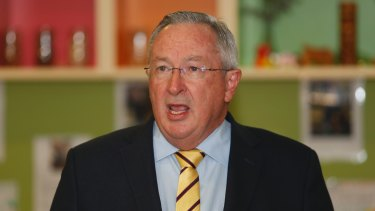 State Health Minister Brad Hazzard said the report confirmed seclusion and restraint should be methods of last resort.