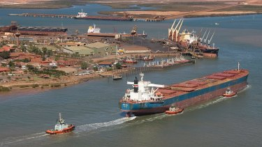 BHP brings in new tug operator for Port Hedland after year