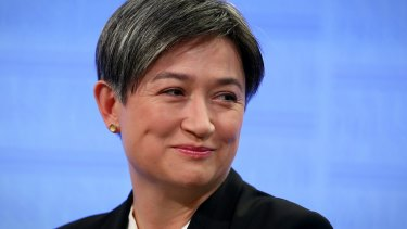 """Penny Wong: """"We are at a change point, and face the possibility of a very different world and a very different America."""""""