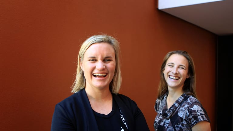 OpenAgent co-founders Zoe Pointon, left, and Marta Higuera advocate values that are understood and 'real'.