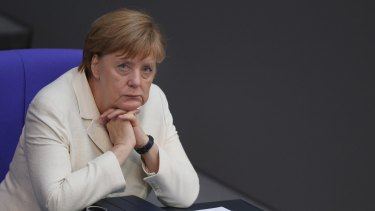 "German Chancellor Angela Merkel in Berlin on Tuesday. ""No cherry picking."""