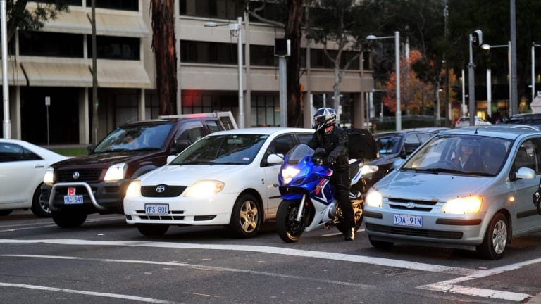"""Victoria is set to allow motorcycle """"lane filtering"""" through stopped or slow traffic."""