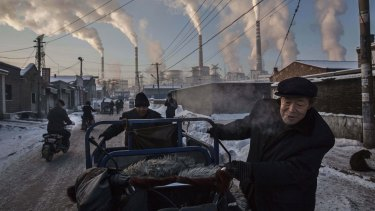 China, by far the world's biggest emitter of greenhouse gases, is aiming to reach a peak in carbon emissions by 2030.