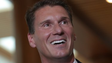 """""""I've organised this and I'm paying for it"""": Australian Conservatives leader Cory Bernardi."""