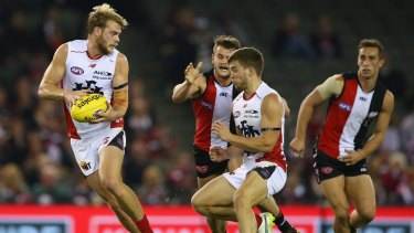 Jack Watts is in a good head space.