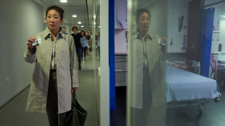 Sandra Oh has her first lead role in Killing Eve.