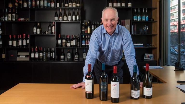 Treasury Wine Estates has a high P/E ratio but good growth potential.