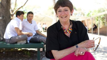Holroyd High principal Dorothy Hoddinott, recipient of the 2014 Australian Human Rights Medal.