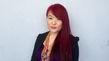 Jules Kim, CEO of the Scarlet Alliance, Australian Sex Workers Association.