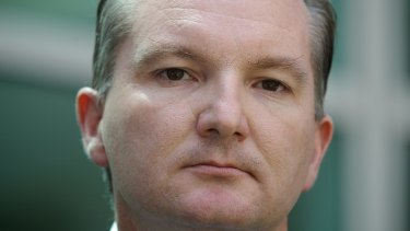 Chris Bowen: Admitted the interview was not his best performance.