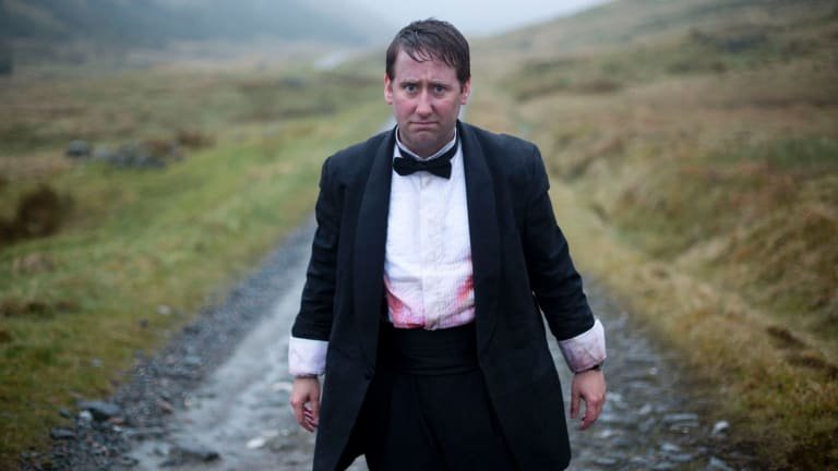 Ian (Jim Howick), the odd man out.