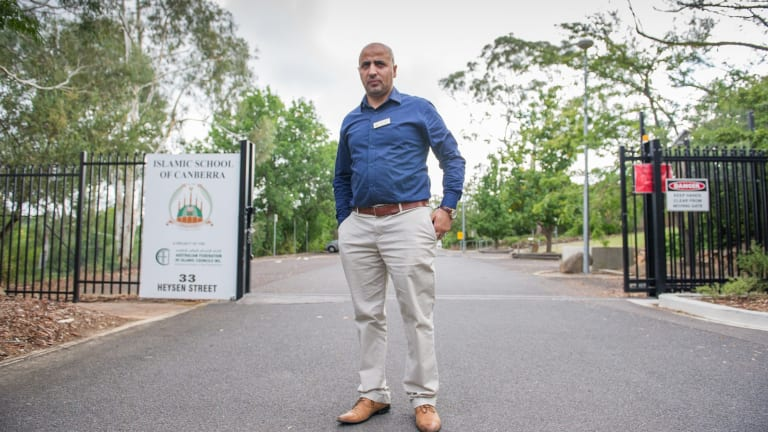 Parent and teacher Imad Alsmadi said their school has been forced to pay the price for mismanagement in other schools.