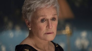 Glenn Close as Joan.