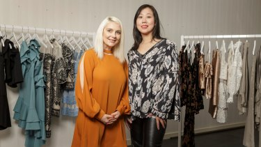 Katie Pratt and Amy Li are the owners of Elliatt. The fashion label launched in China 18 months ago.