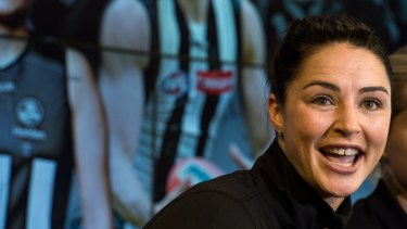 Sharni Layton might make it harder to hate Collingwood