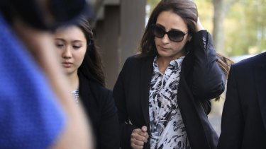 Christine Saliba was found not guilty of being an accessory before the fact to murder.