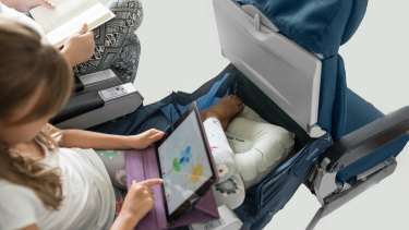 The Legs Up Plane Hammock has not been approved by Qantas or Virgin.