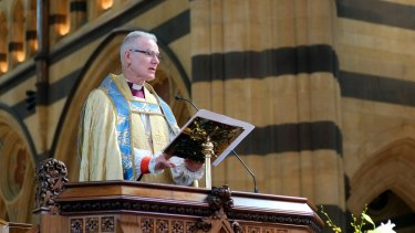 Melbourne Archbishop Philip Freier says Anglicans should vote with their conscience in a gay marriage plebiscite.