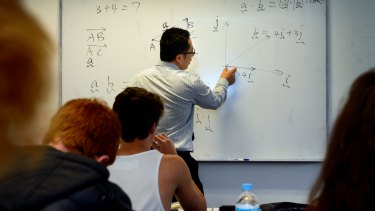 A national conference in Canberra is matching a group of 35 high school science and maths teachers with mentors.
