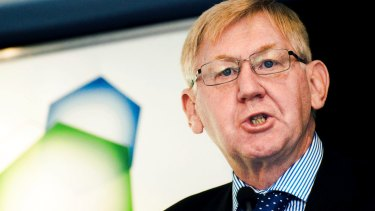 Martin Ferguson makes his views known.