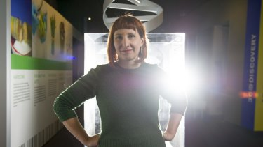 Senior research scientist and taxonomist at the Western Australian Museum, Dr Amber Beavis.