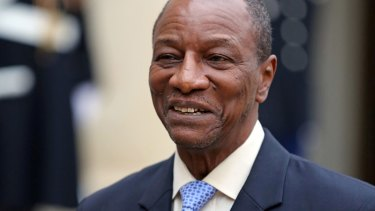 The office of Guinean President Alpha Conde has distanced itself from the man at the centre of Rio Tinto's African payments scandal.