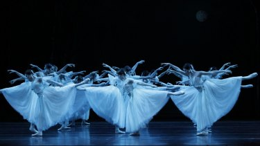 "The Wilis in the second act of ""Giselle""."