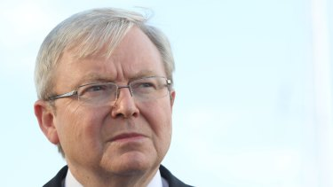 Kevin Rudd is said to be campaigning for the post of United Nations secretary-general.