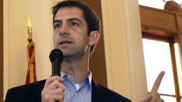 A potential Trump 2.0: Republican Senator Tom Cotton.