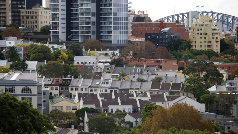 The RBA said new lending to property investors in NSW had surged by almost 150 per cent in the past three years.