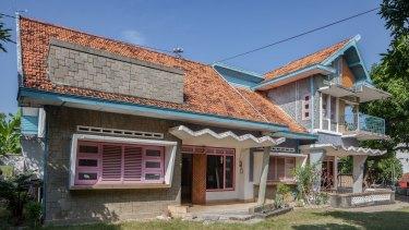 The Hansel and Gretel house, commissioned by Madura tobacco baron Haji Samsul in the 1960s.