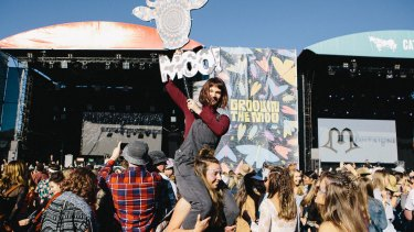 Groovin the Moo will return to Canberra in 2018.