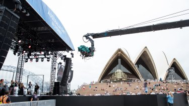 """The """"free"""" Australia Day concert will cost NSW taxpayers an estimated $370,000 plus forgone revenue from the waiver of the venue hire fee."""