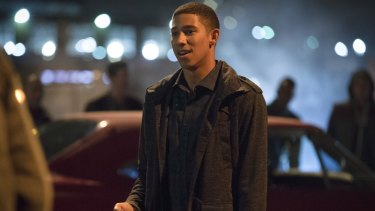 Keiynan Lonsdale plays Wally West in DC Comics' 'The Flash'.