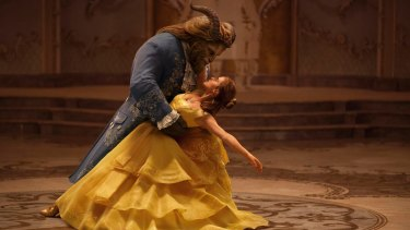 Emma Watson stars as Belle and Dan Stevens as the Beast in Disney's new live-action version.