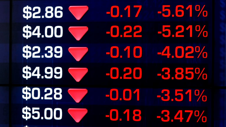 The ASX boards were flushed red on Monday as every sector sold off.