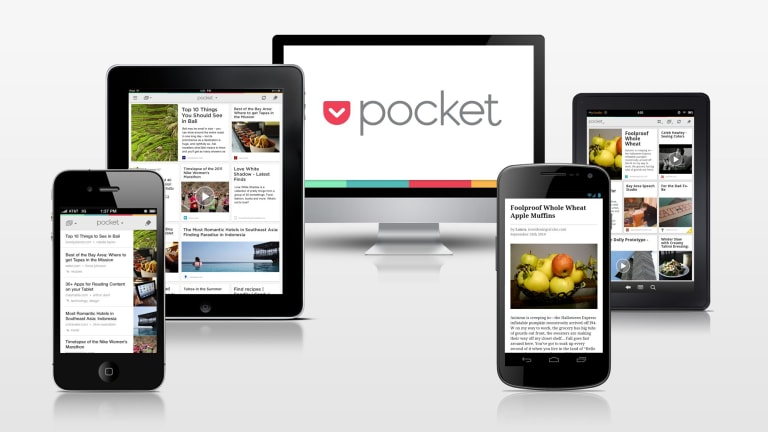 Pocket lets you save articles to read offline later — on any device.