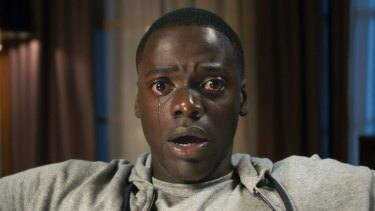 Daniel Kaluuya in a scene from Get Out.