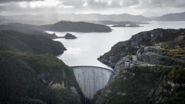 Hydro Tasmania's Gordon Dam.