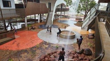 The Walumba Elders Centrein Western Australia, designed by Martyn Hook.