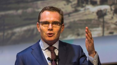 BHP Billiton chief executive Andrew Mackenzie.