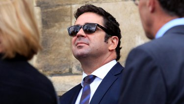 Garry Lyon has stepped away from his media duties.