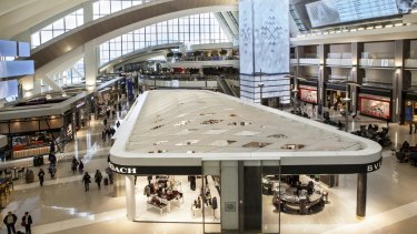 Westfield Corp will focus on developing retail at airports similar to its site at Tom Bradley International airport, Los Angeles.