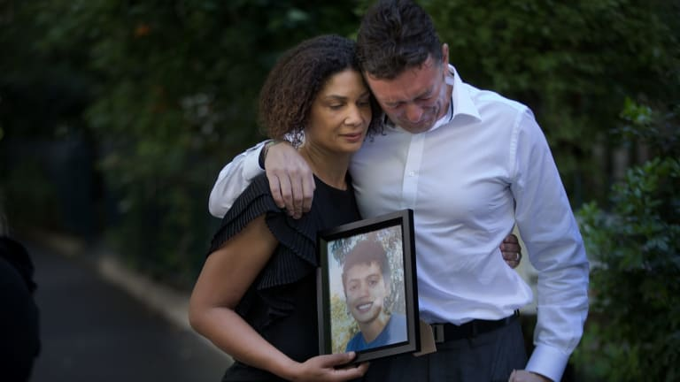 Louis' parents Simon Tate and Gabrielle Catan are calling for changes to investigation protocols at hospitals.