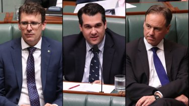 Alan Tudge, Michael Sukkar and Greg Hunt could be charged with contempt of court.