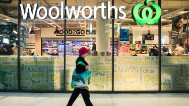 Woolworths supermarkets could be affected by strikes at warehouses.