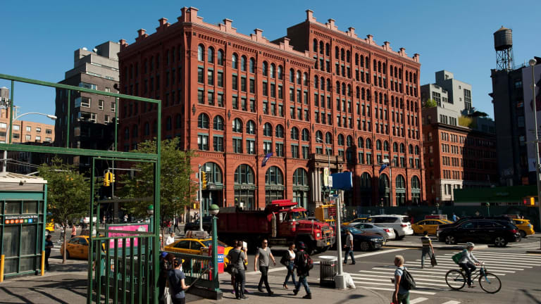The Puck Building in New York, which securities filings show is involved in loans the Kushner Companies received from Deutsche Bank.