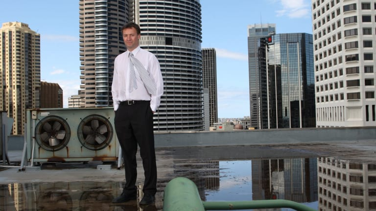 Christian Beck in 2008 in the early stages of building his business.